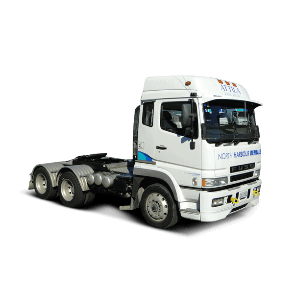 Truck used for transport