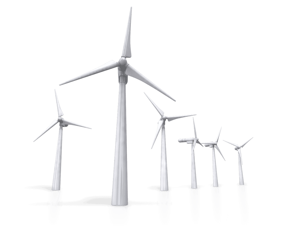 Renewable energy - wind turbine