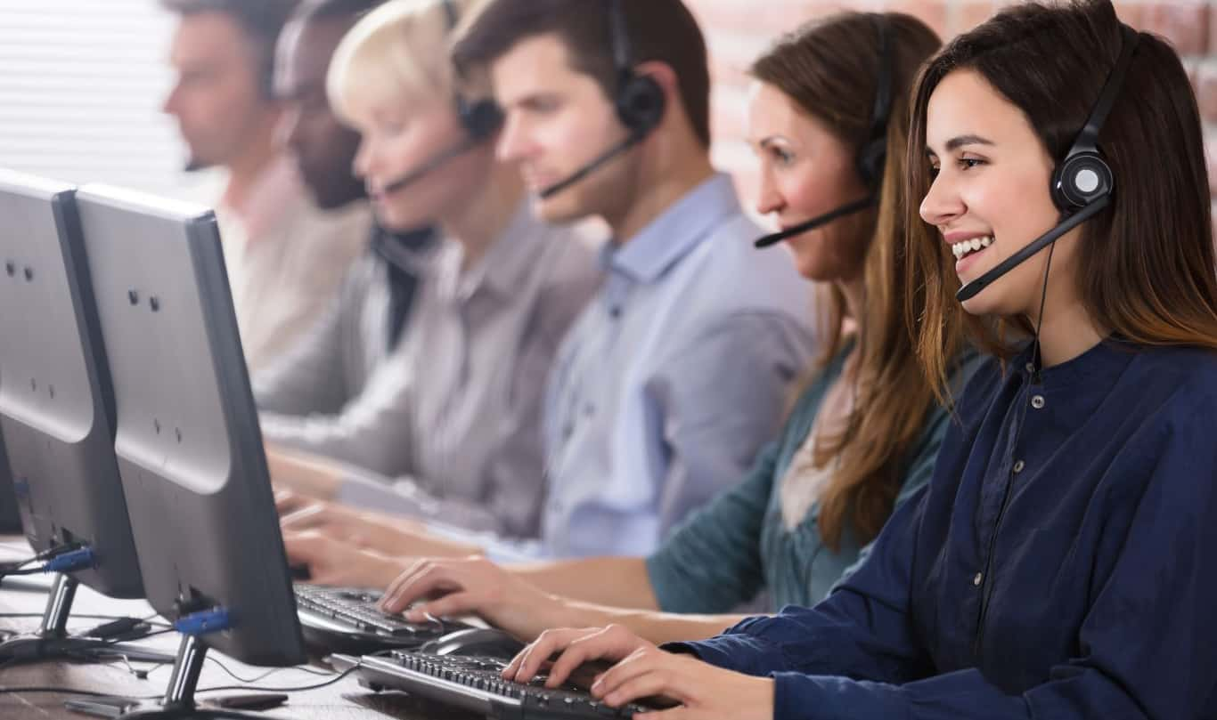 call center image