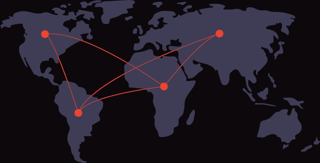 Entities around the world